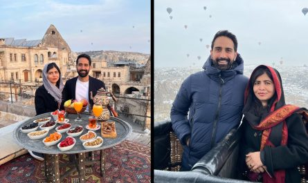 Aiman Khan shares loved-up family pictures from Hunza trip